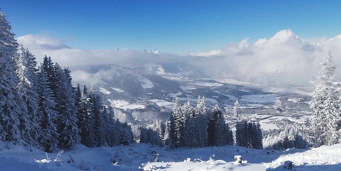 Igls, Ski, Skiing, Snow, Alps, Austrian Alps, Mountains