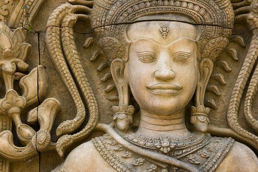 Buddha, Sculpture, Stone, Thailand, Statue, Ancient