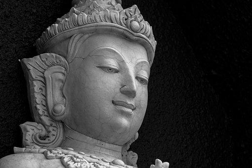 Stone, Carving, Thai, Culture, Buddha, Statue, Buddhist