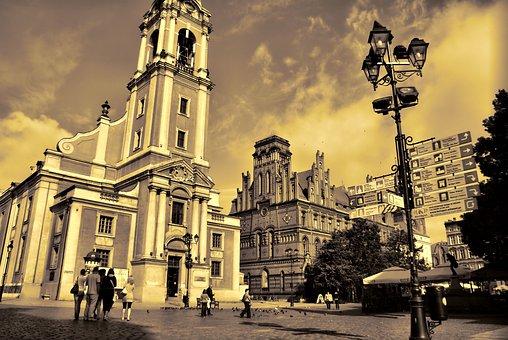 Poland, Gdańsk, Church, City, The Old Town
