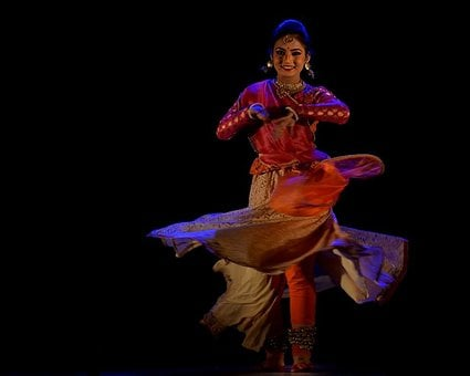 Indian, Dancer, Culture, Traditional, Woman, Dress