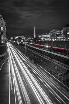 Traffic, Transport, Rails, Train