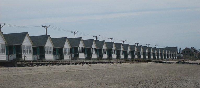 Truro Houses, Cape Cod, Massachusetts