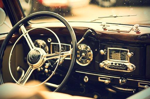 Oldtimer, Interior, Us Vehicle, Auto, Vehicle, Classic