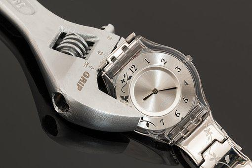 Wristwatch, Shifting Spanner, Time Management