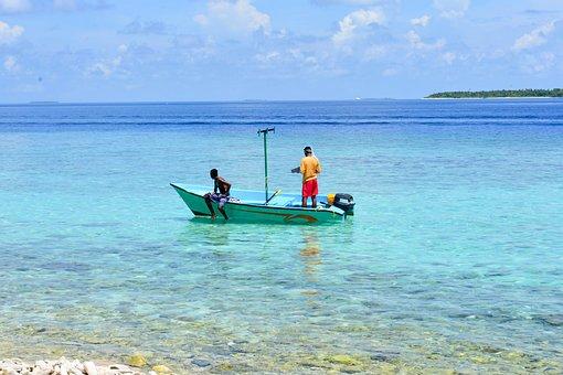 Fishing Boat, Dharavandhoo, Maldives, Baa
