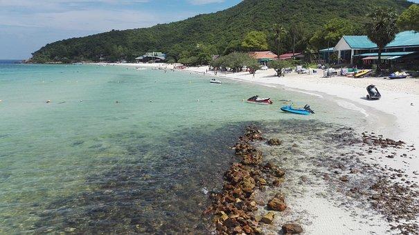 Kohlarn, Thailand, Island, Sun, Beach, Nature, Asia