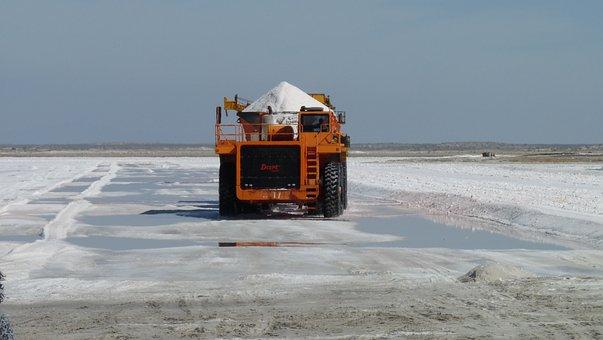 Salt, Baja California Sur, Black Warrior, Mexico