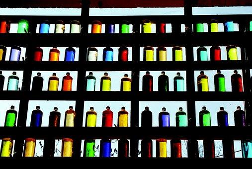 Bottles, Colors, Ocher, Roussillion Vaucluse