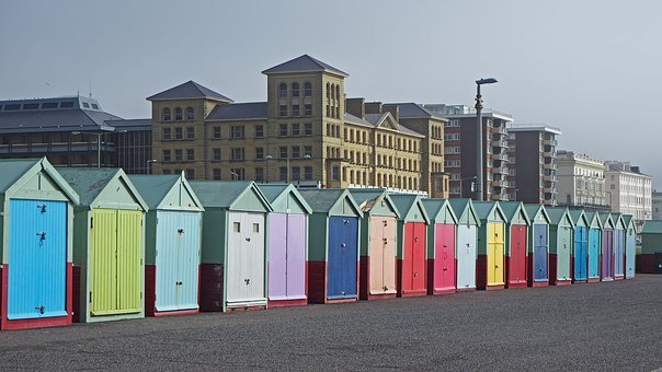 Seafront, Brighton, England, Sussex, Architecture