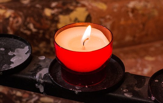 Candle, Light, Votive, Church, Candlelight, Flame