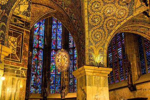 Aachen Cathedral, Church, House Of Worship, Aachen, Dom
