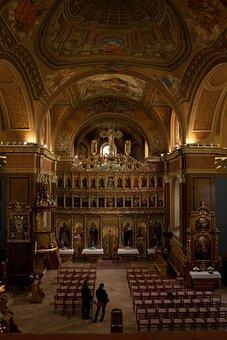 Máriagyűd, Hungary, Church Interior, Iconostasis