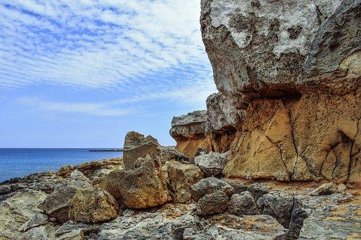 Cliff, Formation, Rocky, Rugged, Coast, Erosion