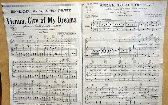 Music, Song, Notenblatt, Compose, Piano, Sheet Music