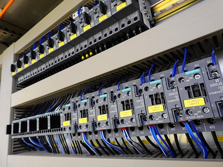 Control Cabinet, Distributor, Verteilerscharnk