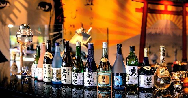 Drinks, Bottle, Sake, Shabu, Restaurant, Sake Bar