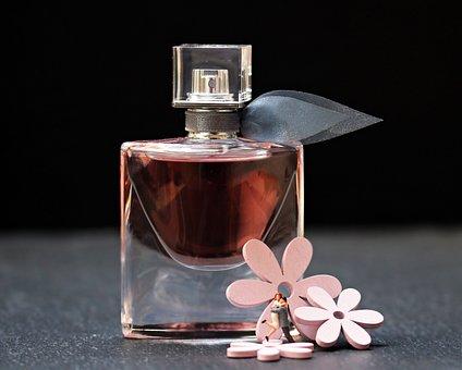 Perfume, Flacon, Glass Bottle, Bottle, Still Life