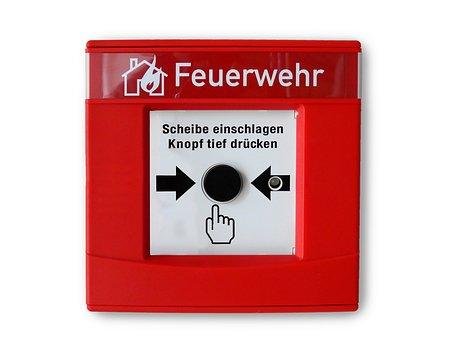 Hand Detector, Fire Detector, Push Button, Button