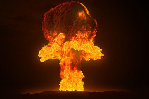 Nuclear, Atom, Bomb, Atomic, Science, War, Radioactive
