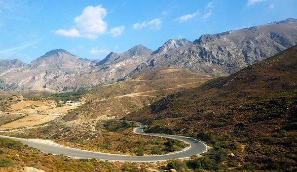 Road, Mountain, Landscape, Nature, Sinuous Road