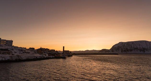 Norway, Coast, Sunset, Scandinavia, Seascape, Nature