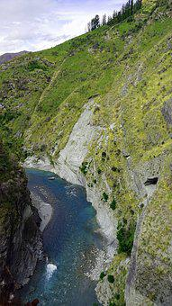 Skippers Canyon, Shot Over River, Queenstown