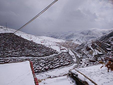 Seda, Buddhism, Tibetan Buddhism, Snow
