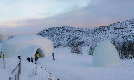 Norway, Kirkenes, Snowhotel, Nature, Outdoors, Sky