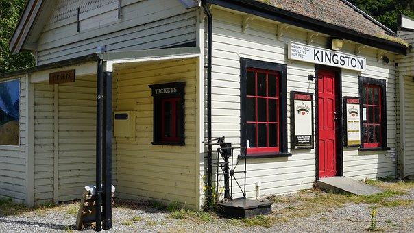 Kingston, Old Railway Station, Station Building