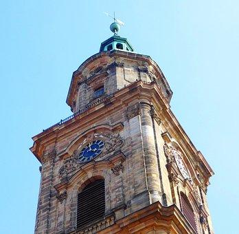 Neustädter Kirche, Steeple, Clock Tower, Architecture