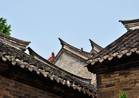 Ancient Architecture, Eaves, House, Roof, Asian Roof
