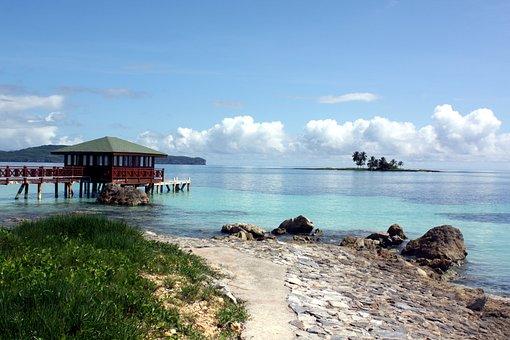 Atlantic, Beach, Dominican Republic, Island, Caribbean