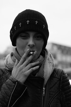 Woman, Smoker, Model, Portrait, Young Woman, Beautiful