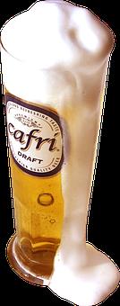 Beer, Cold Beer, Beer Bubbles, Capri, Stein