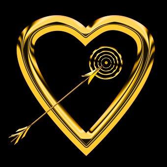 Emotion, Heart, Love, Symbol, Romance, Feelings, Arrow