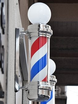 Hairdressing, Barbershop, Barber, Signal
