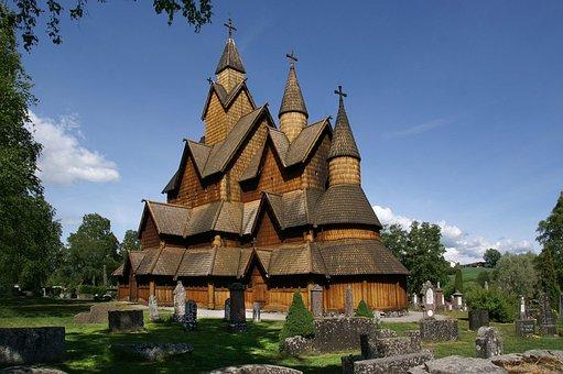 Stave Church, Heddal Norway, Wood