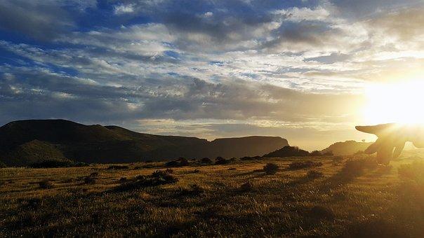 Horizon, Nature, Sunshine, Day S, Sunset