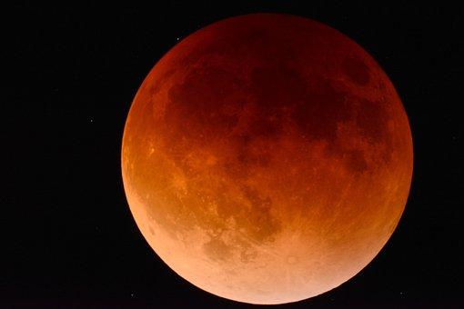 Moon, Eclipse, Space, Astronomy, Lunar, Sky, Cosmos