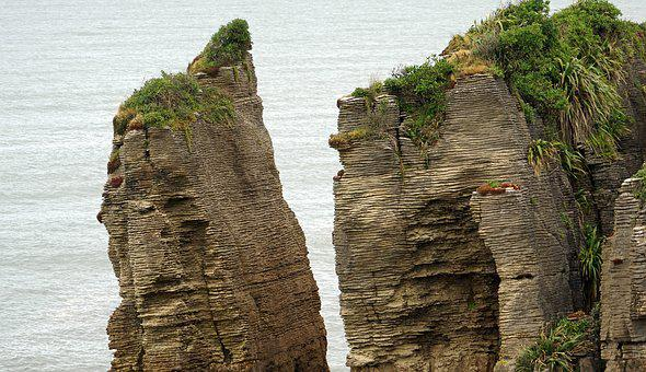 Pancake Rocks, New Zealand, West Coast, South Island