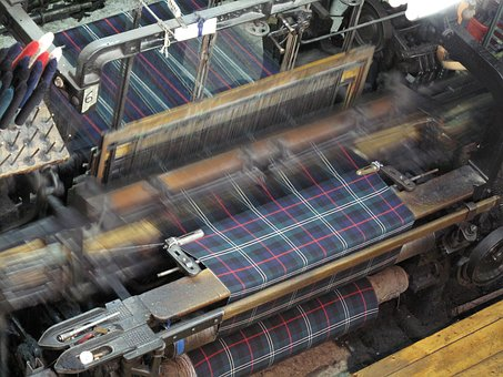 Weaving, Loom, Scottish, Tartan, Wool, Weave, Plaid