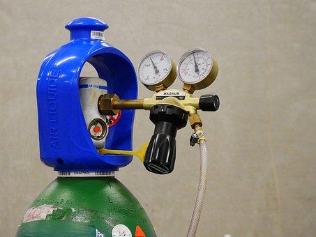 Gas, Weld, Welder, Protective Gas, Autogen, Mig