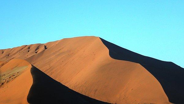Red Dunes, Namibia, Desert, Roter Sand
