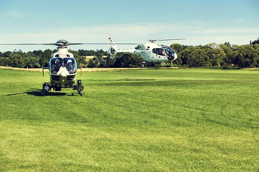 Helicopter, Airport, Flugshow, Rotor, Fly, Rotor Blades