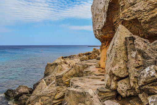 Cliff, Formation, Rocky, Rugged, Path, Dangerous, Coast