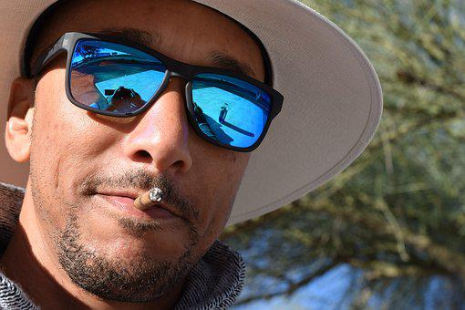 Face, Cigar, Smoking, Smoker, Tobacco