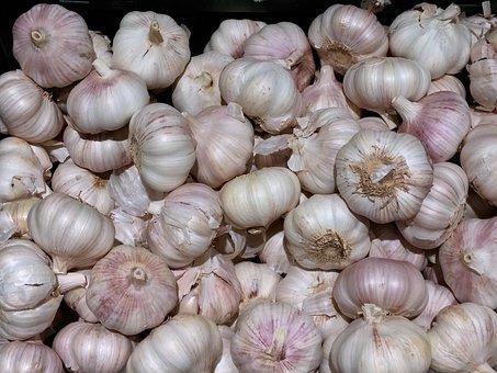 Vegetables, Garlic, Spice, Healthy, Eat, Nutrition