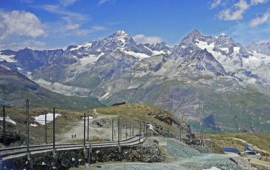 Switzerland, Valais, Gornergrat, Alpine, High Alps