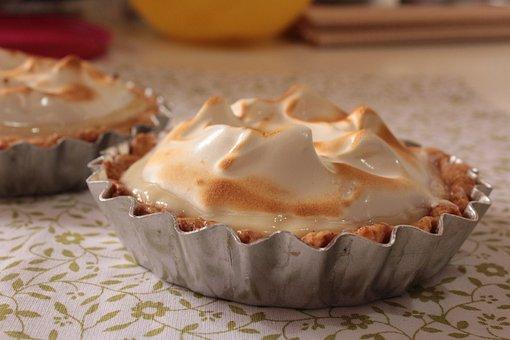 Tartlet, Pie, Key Lime Pie, Meringue, Lemon Pie